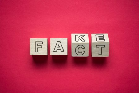 How do businesses deal with fake news